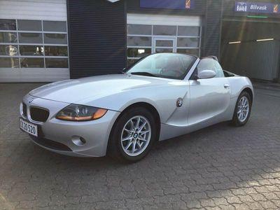 brugt BMW Z4 2,2 Roadster Steptr.