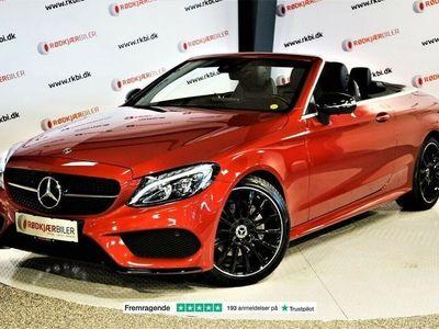 brugt Mercedes C200 2,0 AMG Line Cabriolet aut.
