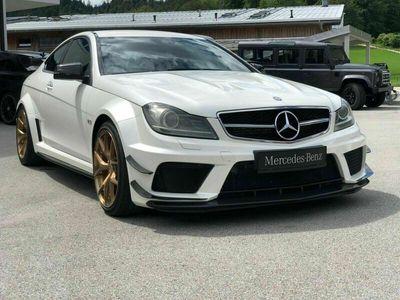 brugt Mercedes C63 AMG C63AMG Black Series - 517 hk Speedshift AMG Black Series - 517 hk Speedshift