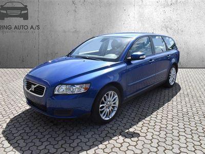brugt Volvo V50 1,6 D Momentum 110HK Stc - Personbil - Blåmetal