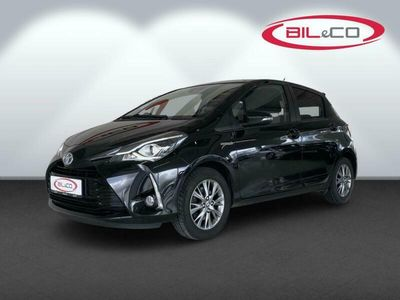 brugt Toyota Yaris Hybrid 1,5 Hybrid Exclusive E-CVT 100HK 5d Trinl. Gear