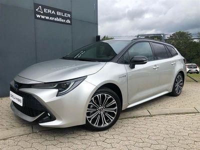 brugt Toyota Corolla Touring Sports 2,0 Hybrid H3 Premiumpakke E-CVT 180HK Stc