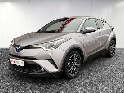 brugt Toyota C-HR 1,8 B/EL C-HIC Sound - LED Multidrive S 122HK 5d Aut.