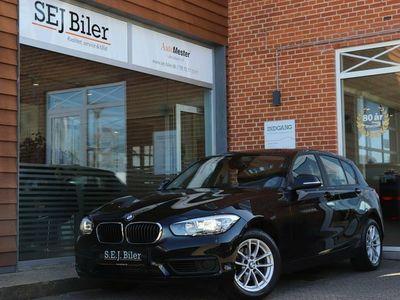 brugt BMW 118 d 2,0 Connected 150HK aut 5d