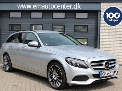 brugt Mercedes C220 d 2,2 stc. aut.