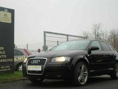 brugt Audi A3 Sportback 1,8 TFSi Attraction