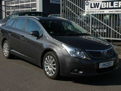 brugt Toyota Avensis 2,0 D-4D T2 Touch stc.