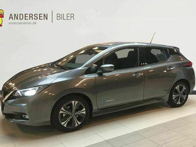 brugt Nissan Leaf Tekna MY19.5 40 kWh Leather Ultrasuede