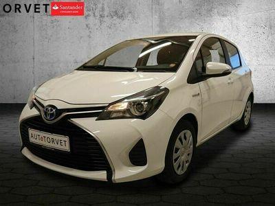 brugt Toyota Yaris Hybrid 1,5 Hybrid Limited e-CVT