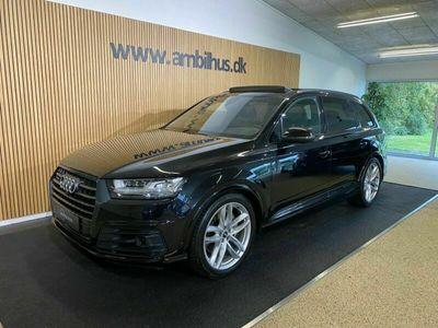 brugt Audi Q7 TDi 272 S-line quattro Tiptr. 7prs