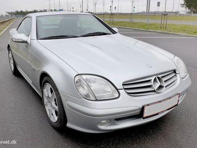 brugt Mercedes SLK200 2,0 Kompressor 163HK Cabr. 6g