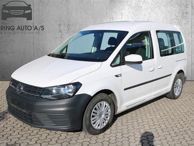 brugt VW Caddy 2,0 TDI BMT Trendline 102HK - Personbil - Hvid