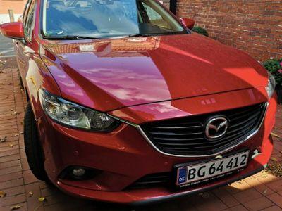 brugt Mazda 6 2,2 SKYACTIV-D Vision 150 hk Stationcar aut.