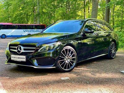 brugt Mercedes C300 2,0 AMG Line stc. aut.