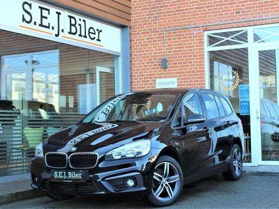 brugt BMW 218 Gran Tourer d 2,0 D Advantage 150HK 6g A+