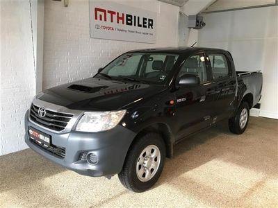 gebraucht Toyota HiLux Double Cab 2,5 D-4D T2 4x4 144HK DobKab 6g