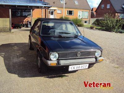 brugt VW Golf Cabriolet 1,