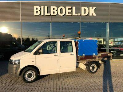 käytetty VW Transporter 2,0 TDi 114 Mandskabsvogn m/lad