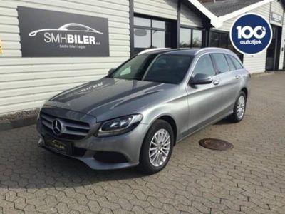 gebraucht Mercedes C200 d 1,6 stc. aut.