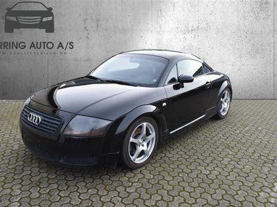 brugt Audi TT 1,8 Coupé 180HK 2d - Personbil - Sort