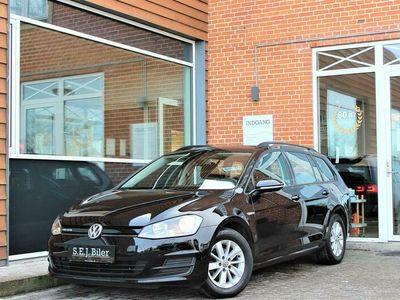 brugt VW Golf Variant 1,6 TDI Style 110HK Stc 6g A++