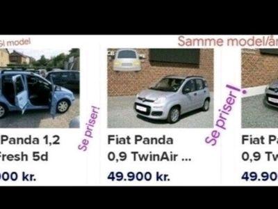 brugt Fiat Panda Popstar blue & me, 60hk 2cyl 27kml