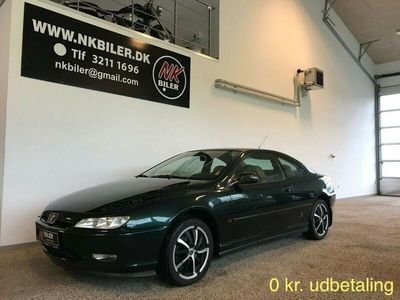 brugt Peugeot 406 Coupe 2,0
