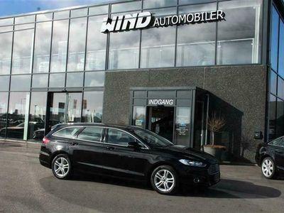 brugt Ford Mondeo 2,0 TDCi Titanium Powershift 180HK Stc