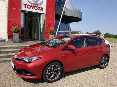 brugt Toyota Auris Hybrid 1,8 B/EL Style Safety Sense 136HK 5d Aut.
