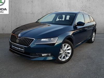 brugt Skoda Superb Combi 1,4 TSI ACT Style DSG 150HK Stc 7g Aut.