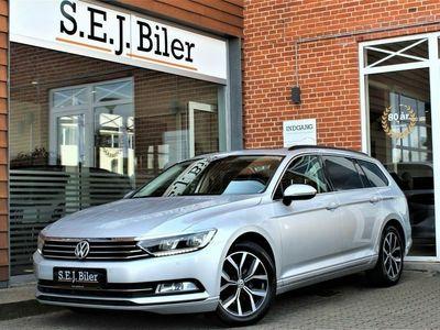 brugt VW Passat 2,0 TDi Comfort+ Vari. DSG 150HK st.car aut