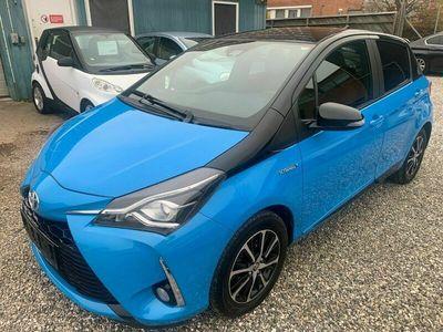 brugt Toyota Yaris 1,5 Hybrid H3 Limited e-CVT