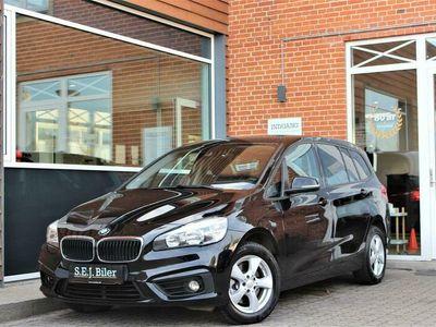 brugt BMW 218 Gran Tourer d 2,0 D Advantage Steptronic 150HK 8g Aut. A+