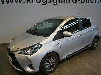 brugt Toyota Yaris Hybrid 15 Hybrid Premium Smart E-CVT 100HK 5d Trinl. Gear