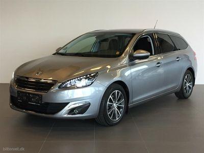 brugt Peugeot 308 SW 1,6 BlueHDi Allure EAT6 120HK Stc 6g Aut.