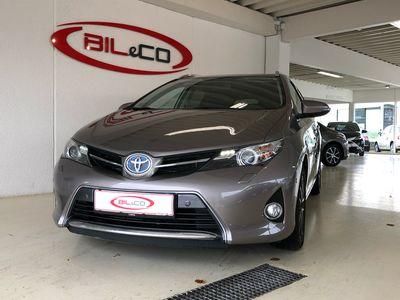 used Toyota Auris Touring Sports 1,8 VVT-I H2 Premium E-CVT 136HK Stc Aut.