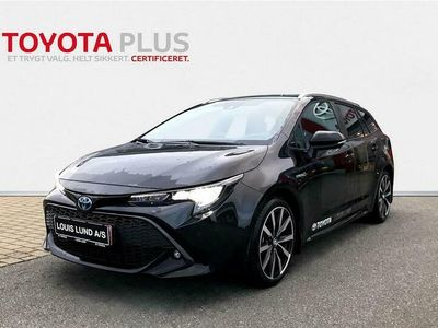 brugt Toyota Corolla Touring Sports 1,8 B/EL H3 Smart Safety Plus E-CVT 122HK Stc Trinl. Gear