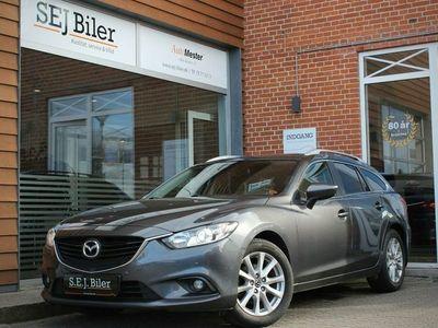 brugt Mazda 6 2,0 Sky-G Vision stc. 165HK st.car aut