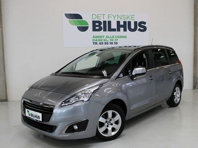 brugt Peugeot 5008 2,0 BlueHDi 150 Style 7prs