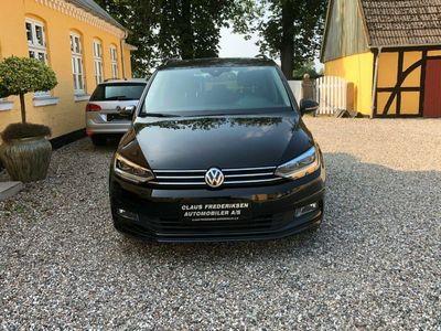 brugt VW Touran 1,6 TDi 110 Comfortline DSG