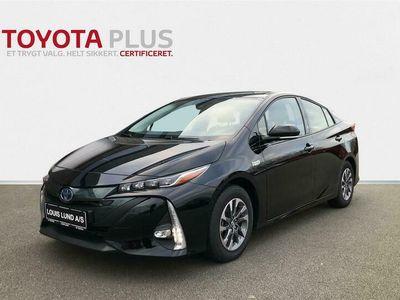 brugt Toyota Prius Plug-in 1,8 B/EL H3 Smartpakke 122HK 5d Aut. A+++