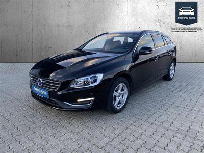 brugt Volvo V60 2,0 D4 Momentum 190HK Stc 6g - Personbil - Sort