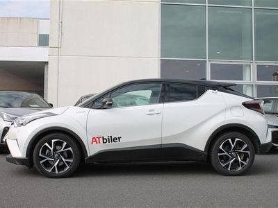 brugt Toyota C-HR 1,8 B/EL C-LUB Premium Alcantara Bi-tone Multidrive S 122HK 5d