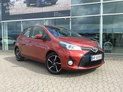 brugt Toyota Yaris 1,3 VVT-I Style Edition 100HK 5d 6g