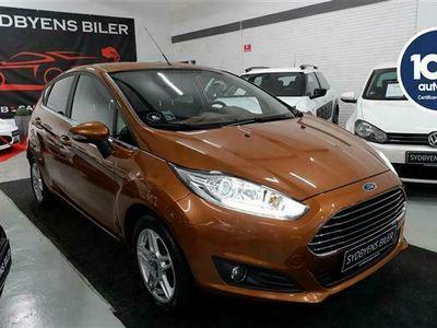 brugt Ford Fiesta 1,0 EcoBoost Titanium Start/Stop 125HK 5d