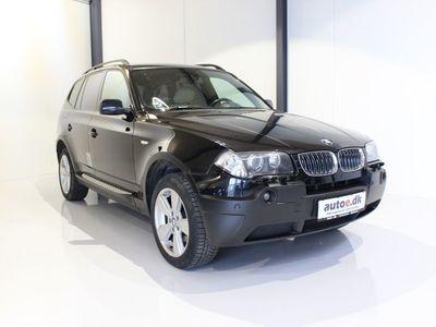 brugt BMW X3 3,0 D Steptr. Van
