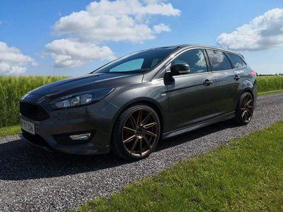 brugt Ford Focus 1.0 EcoBoost (125 HK)M6 Stationcar Forhjulstræk Manuel