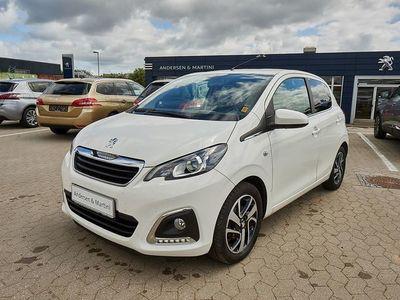 gebraucht Peugeot 108 1,0 e-Vti White Edition 69HK 5d