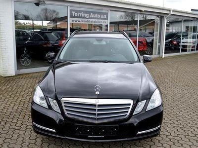 brugt Mercedes E200 2,1 CDI BlueEfficiency 136HK Stc 6g