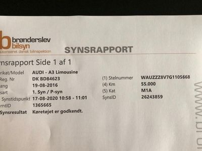 brugt Audi A3 Limousine 1.4 TFSI COD 150 HK 4-DØRS